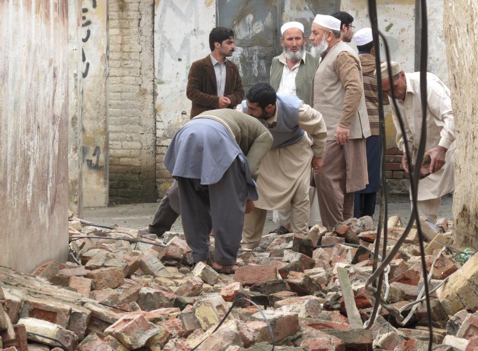 Afghánistán, Pákistán a Indii zasáhlo rozsáhlé zemětřesení