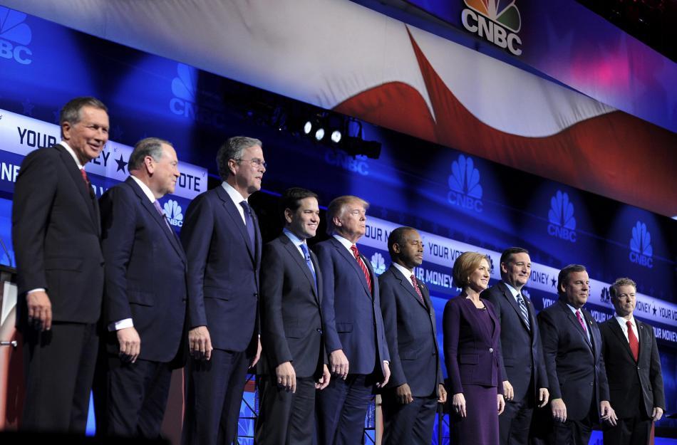 Debata republikánských kandidátů