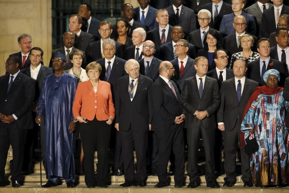 Účastníci maltského summitu k migrační krizi