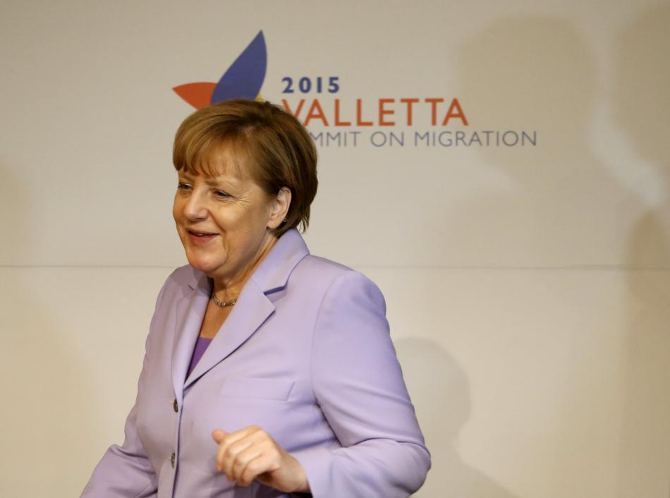 Angela Merkelová na maltském summitu