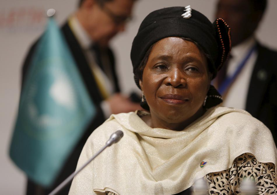 Předsedkyně Komise Africké unie Nkosazana Dlamini-Zumová na maltském summitu