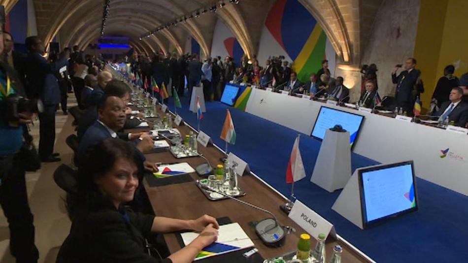 Summit EU a Afriky na Maltě
