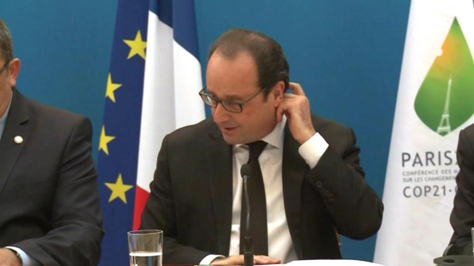 Francois Hollande na jednání se zástupci Melanésie, Polynésie a Mikronésie