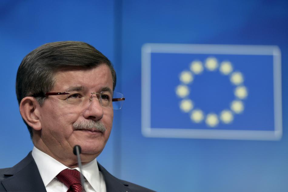 Ahmet Davutoglu po summitu s EU