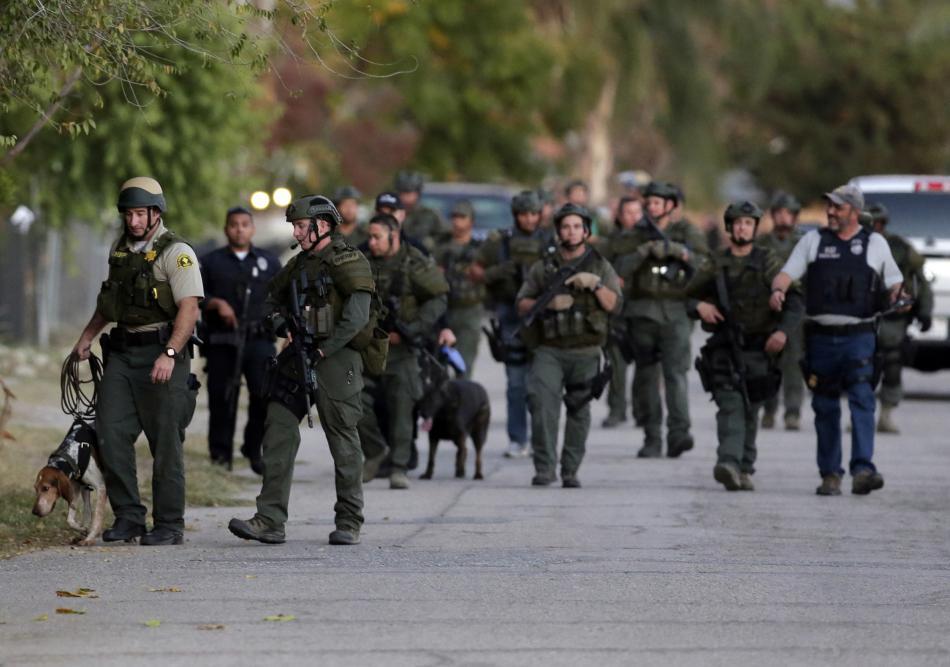 Pátrání po střelcích ze San Bernardina