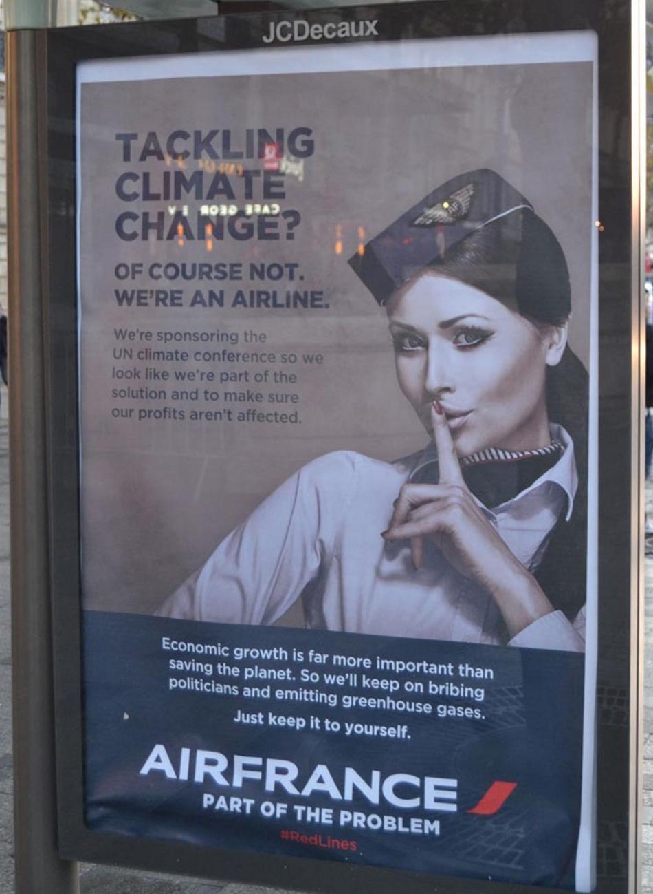 Antireklama na Air France