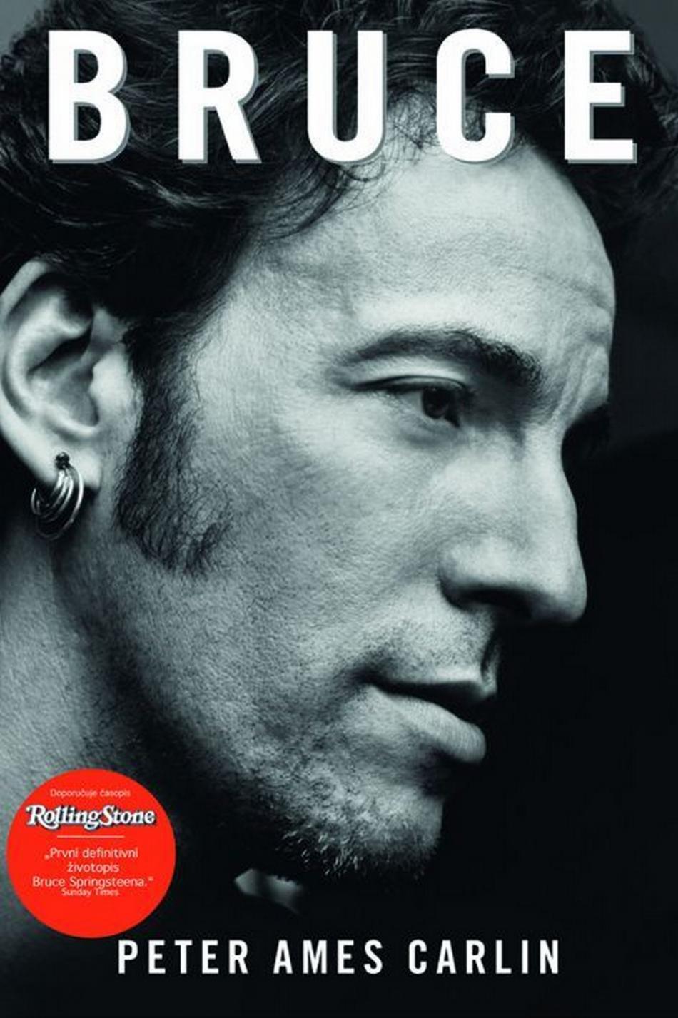 Bruce - životopis Bruce Springsteena od Petera Amese Carlina