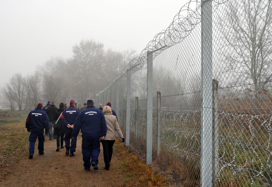 Plot u Röszke na maďarsko-srbské hranici