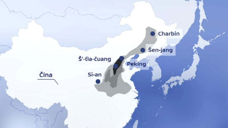 Smogová situace v Číně