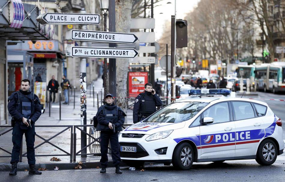 Incident v Paříži
