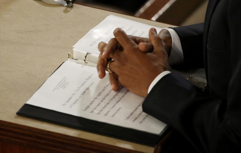 Barack Obama přednesl svou poslední zprávu o stavu Unie