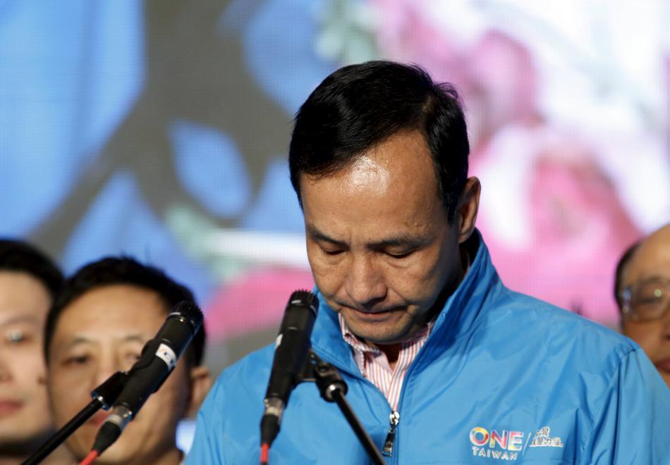 Erik Čchu se svým voličům omluvil za prohrané volby