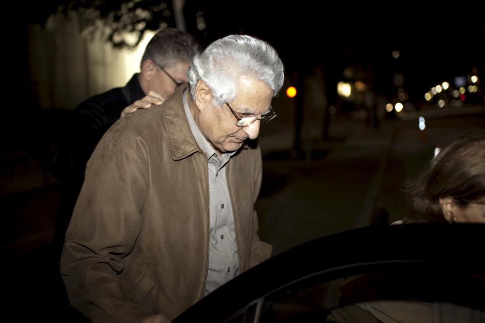 Khosrow Afghahi opouští věznici v Houstonu
