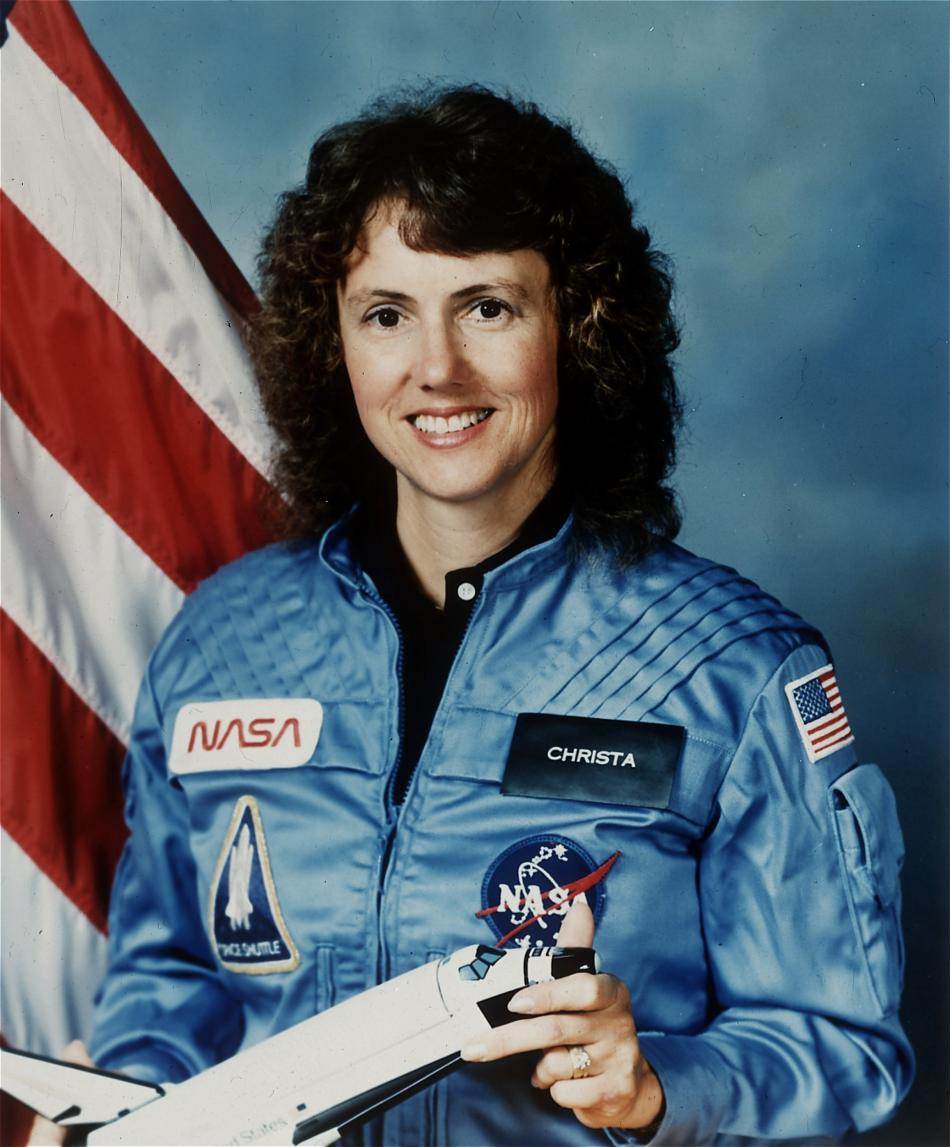 Christa McAuliffeová se stala symbolem tragédie Challengeru