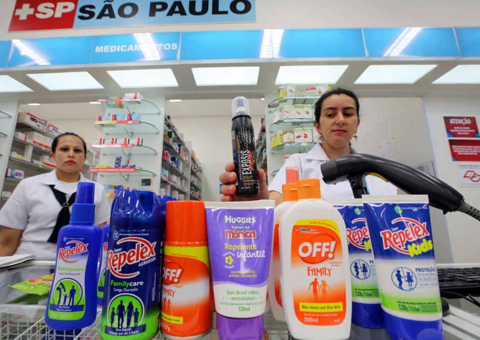 Repelenty jdou v Brazílii na odbyt