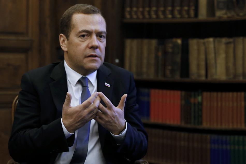 Ruský premiér nevěří v brzký konec syrských bojů