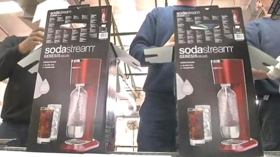 Výroba přístrojů Sodastream