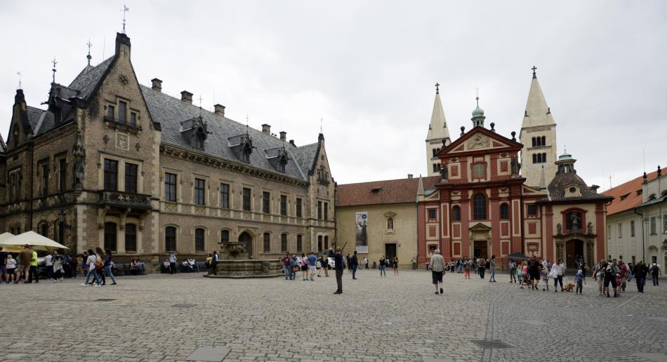 Nové proboštství a Jiřský klášter