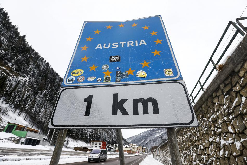 Italsko-rakouská hranice
