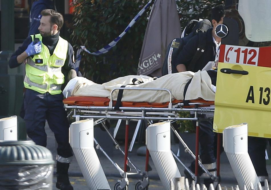 Policejní zásah v Bruselu