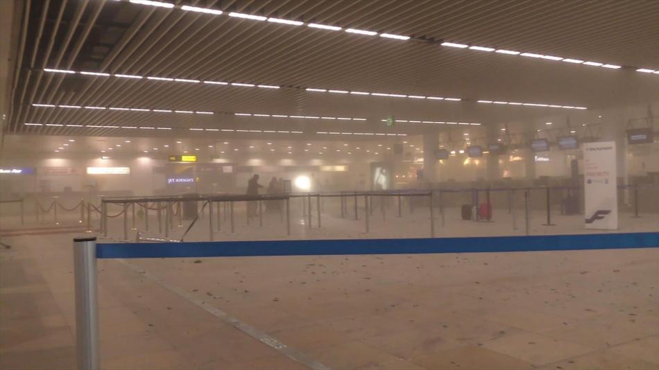 Teroristický útok na letišti v Bruselu