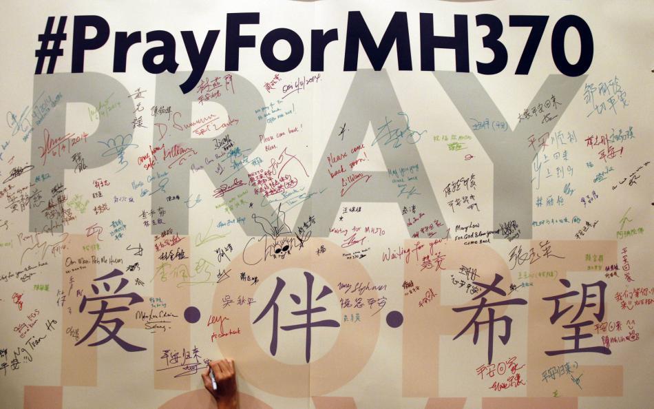 Kampaň za nález MH370