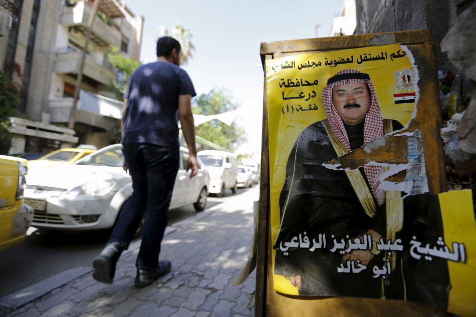Předvolební kampaň před syrskými parlamentními volbami