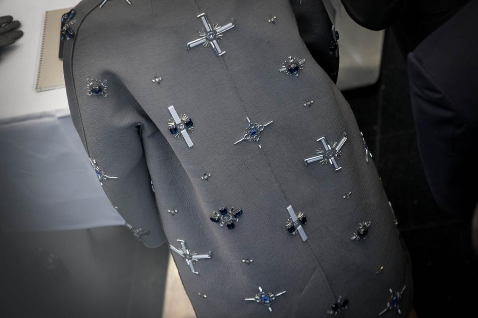 Kabát královny Máximy