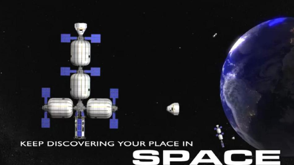 Propojením nafukovacích modulů by měly vznikat vesmírné hotely