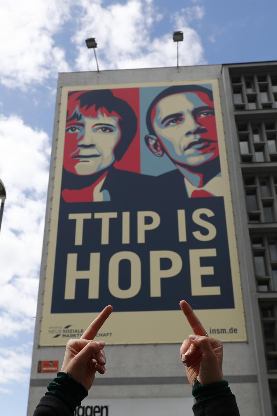 V Německu se protestovalo proti TTIP