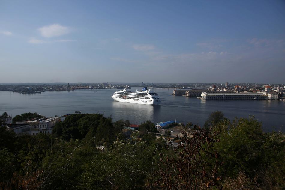 Do Havany připlula z USA první loď po půl století