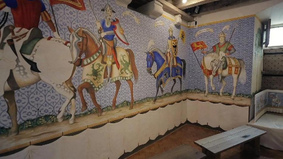 Freska v Castelnaud