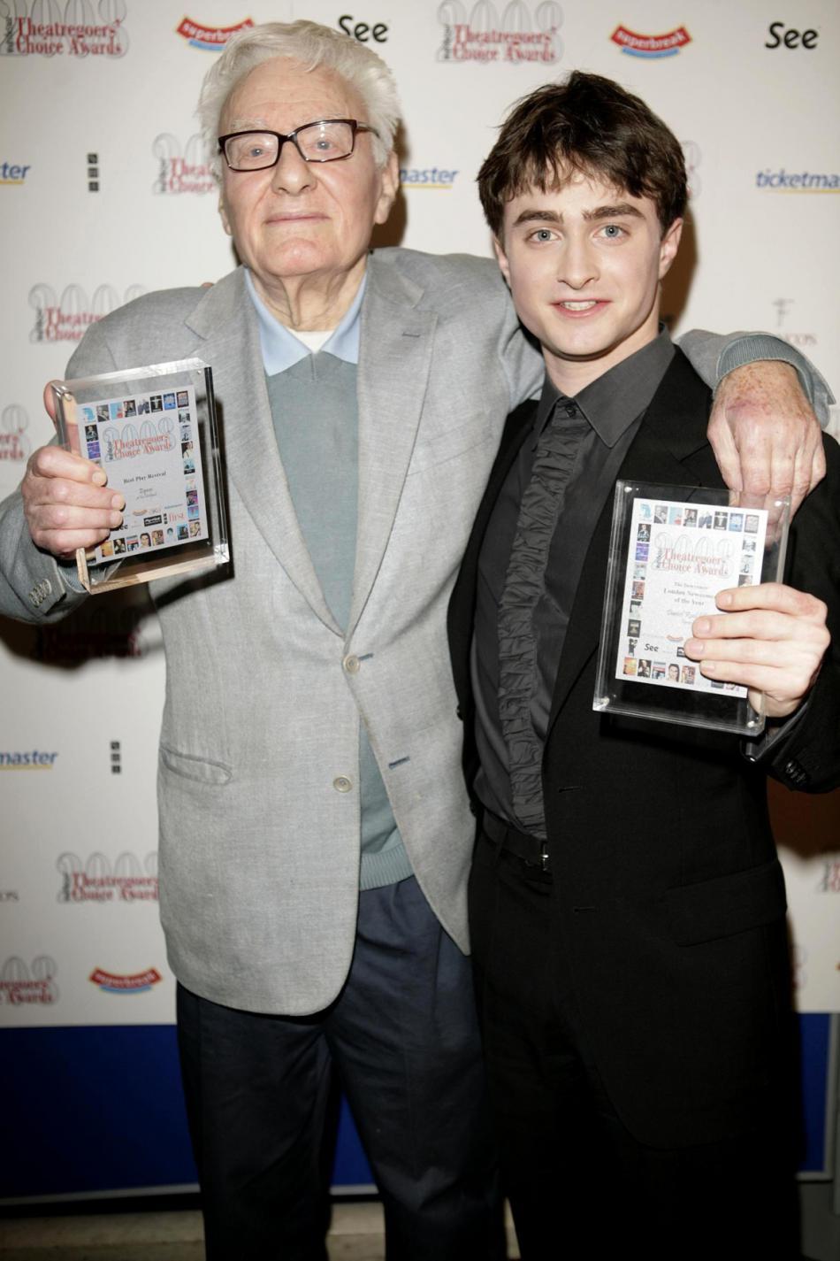Peter Shaffer a Daniel Radcliffe