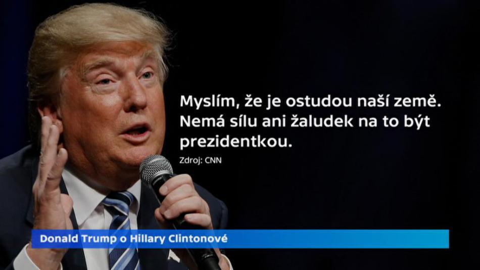 Trump o Clintonové