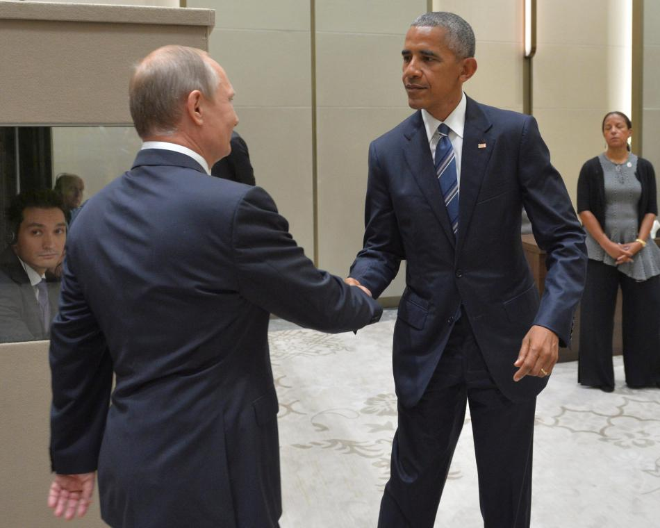 Putin se během summitu G20 setkal s Barackem Obamou