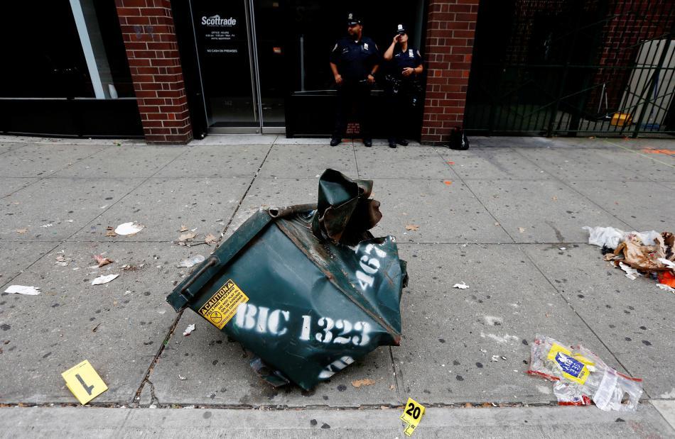 Exploze v New Yorku