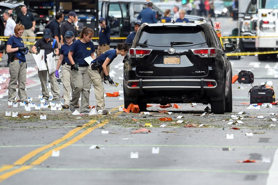 Výbuch v New Yorku