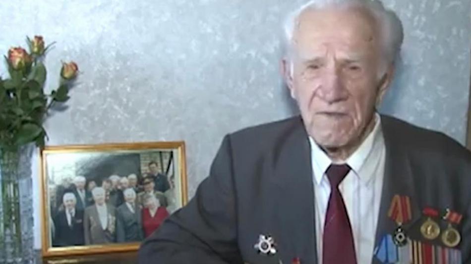 Veterán bitvy o Moskvu Alexej Perepelkin