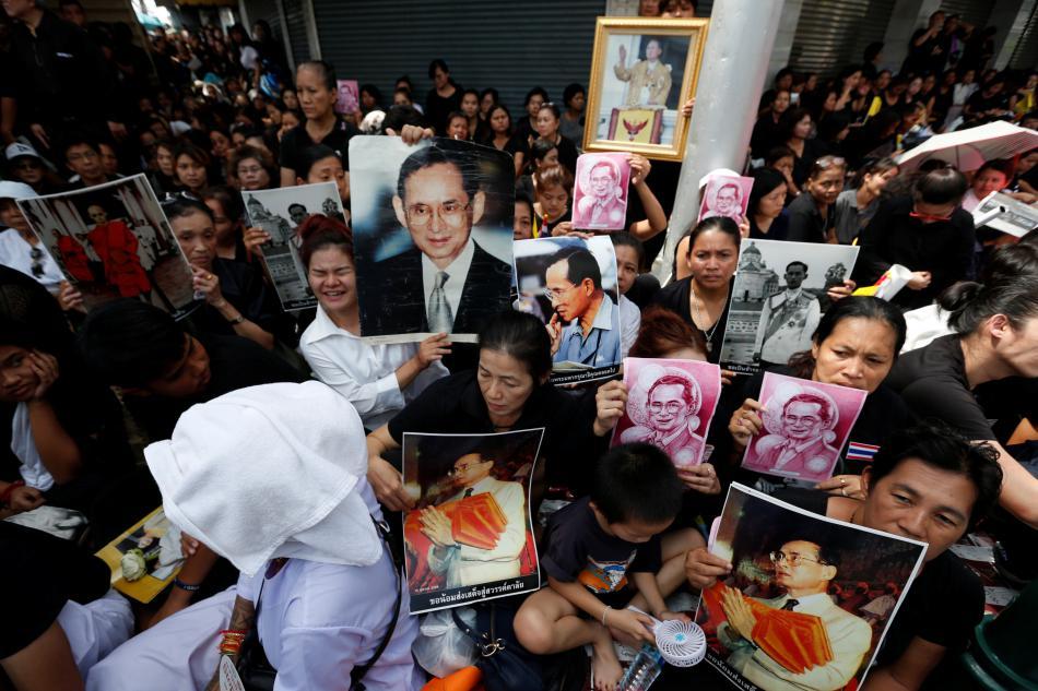 Zármutek v Thajsku