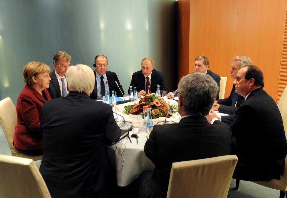 Berlínská schůzka Normandské čtyřky