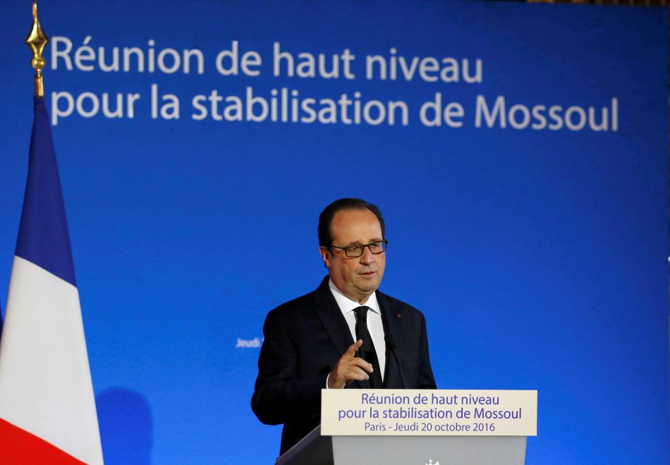 Pařížské jednání o budoucnosti Mosulu