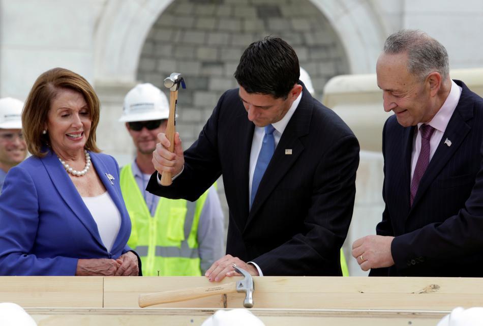 Na start příprav inaugurace dohlíželi hlavní tváře Kongresu