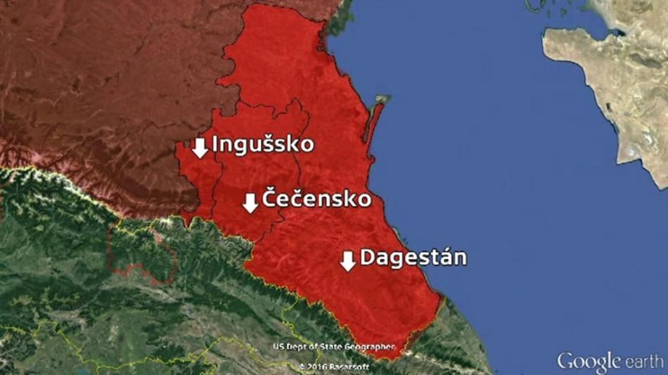 Oblasti Ruské federace, kde se provádí ženská obřízka