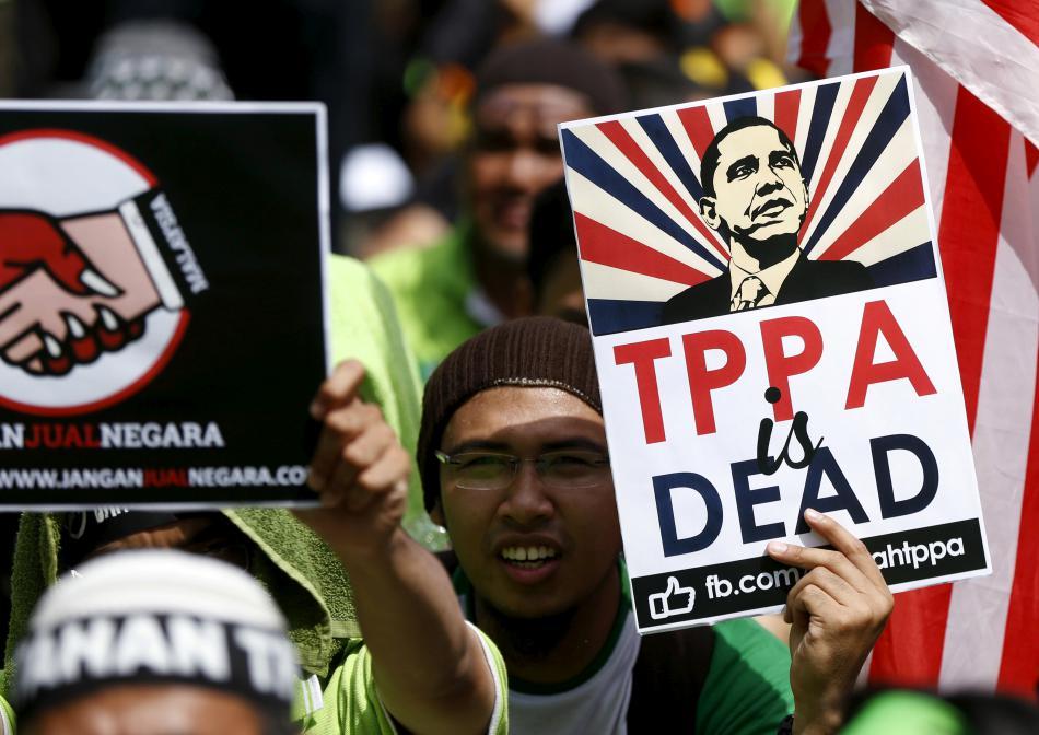 Protest proti TPP