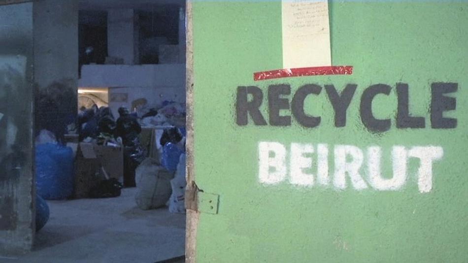 Recycle Beirut zaměstnává syrské uprchlíky