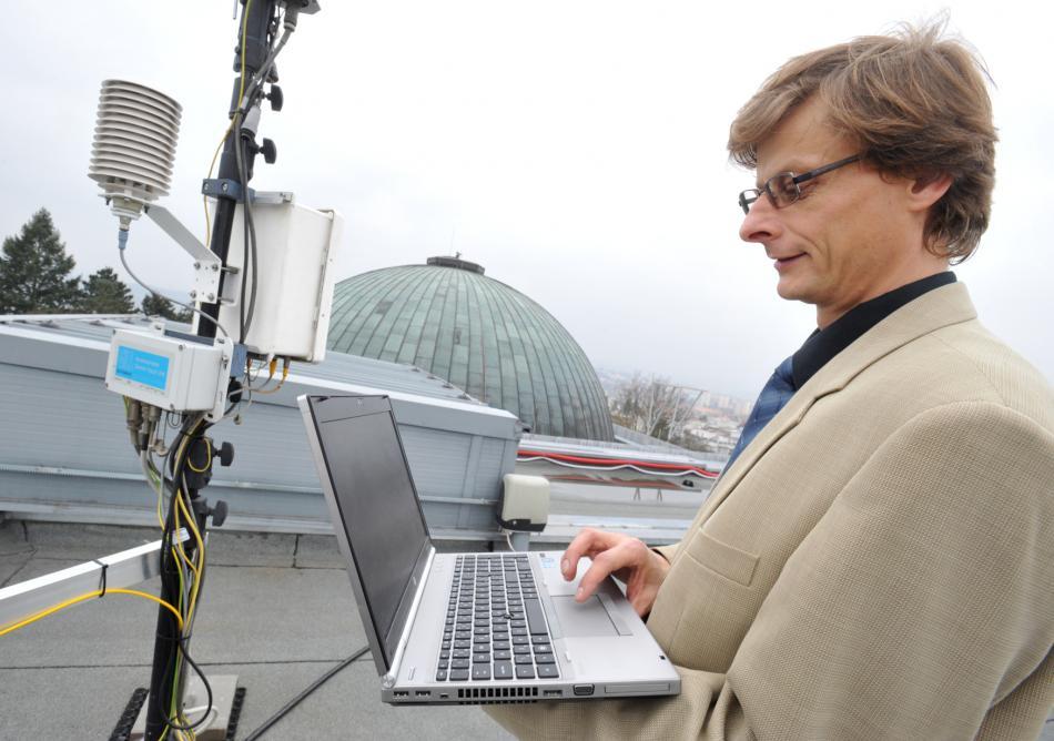 Měření kvality ovzduší v Brně