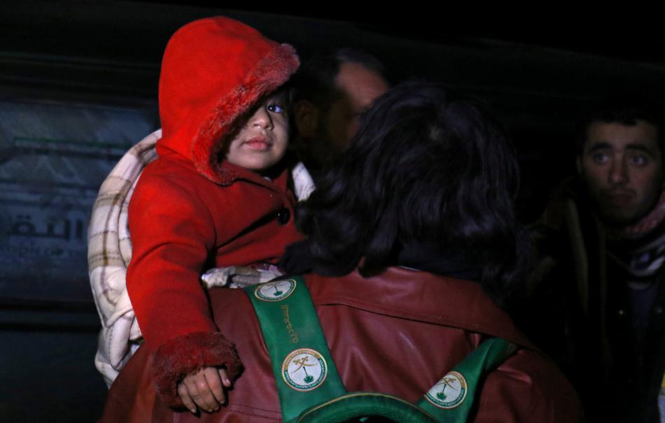Evakuace Aleppa