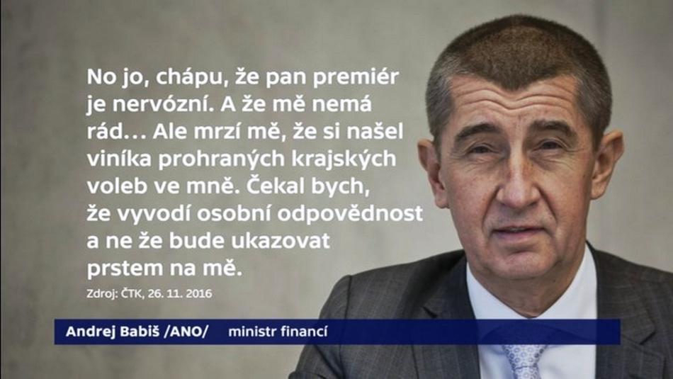Reakce Andreje Babiše