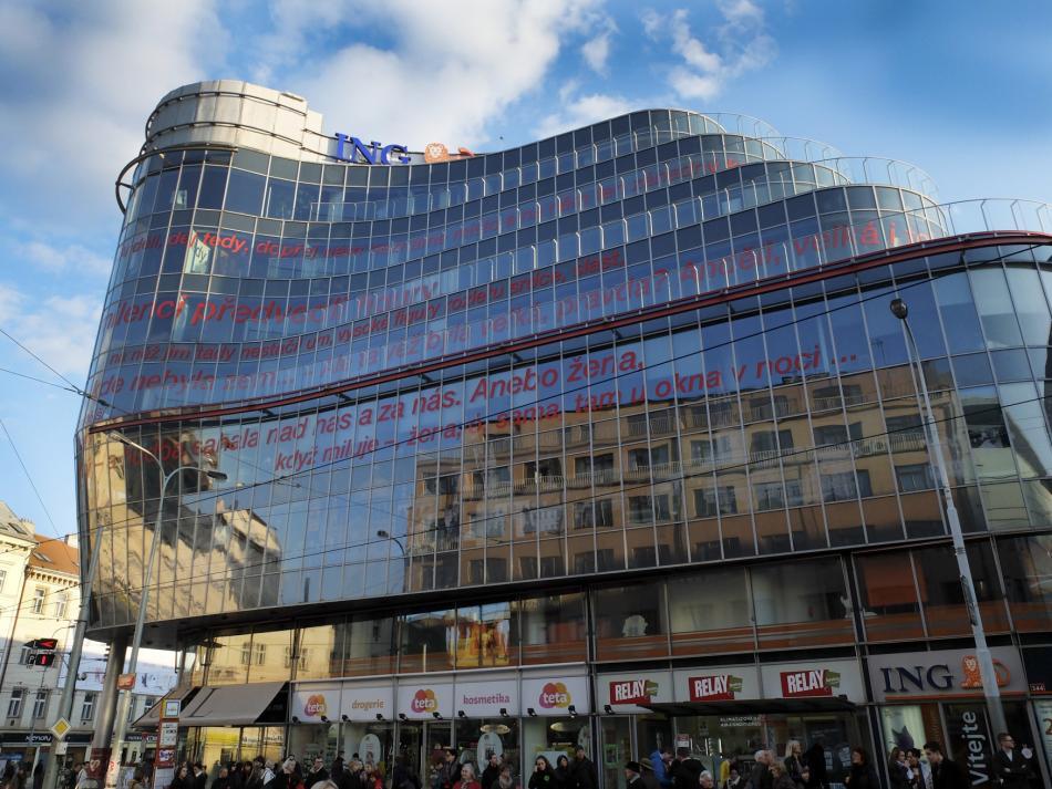 Zlatý Anděl, obchodně administrativní centrum v Praze
