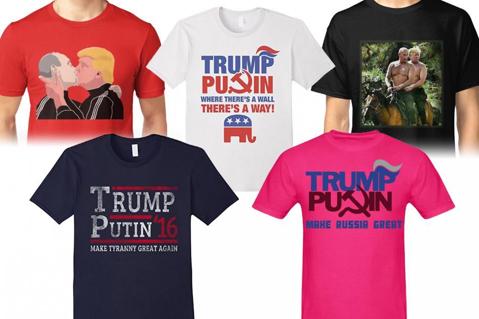 Trička Trump a Putin